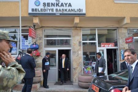 Şenkaya'da cami açtı! 2