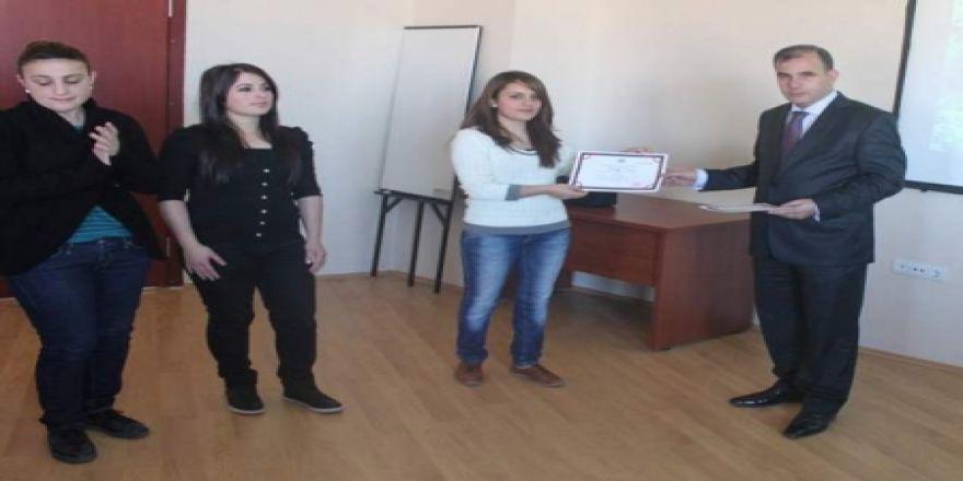 Erzurum'da NRP eğitimi sona erdi