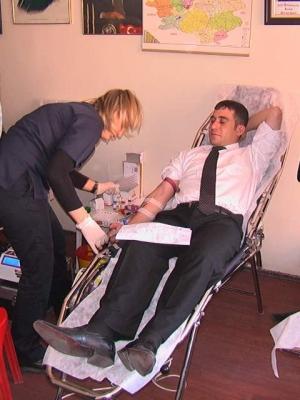 Ülkücülerden kan bağışı! 1