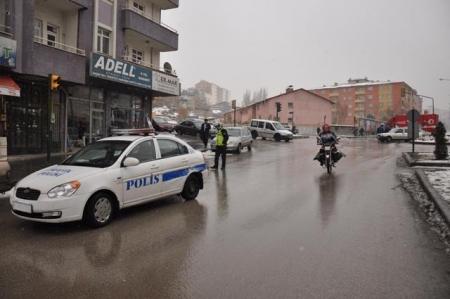 Erzurum'da buzlanma kazaları! 2