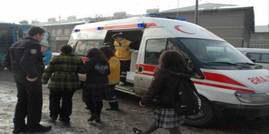 Kız öğrenci saldırıya uğradı!