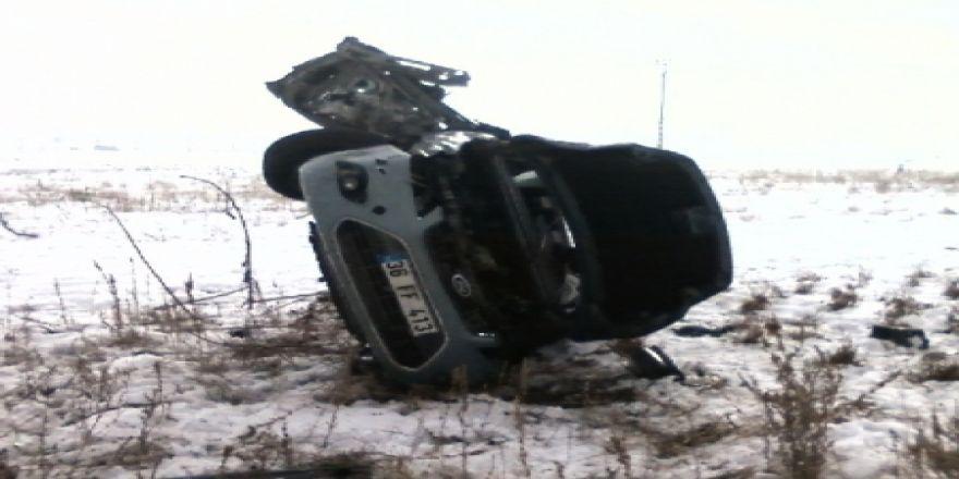 Trafik kazası: 1 ölü!