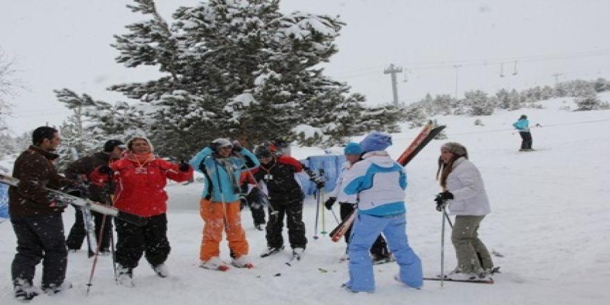 Palandöken'de Kar Kalınlığı 150 Cm