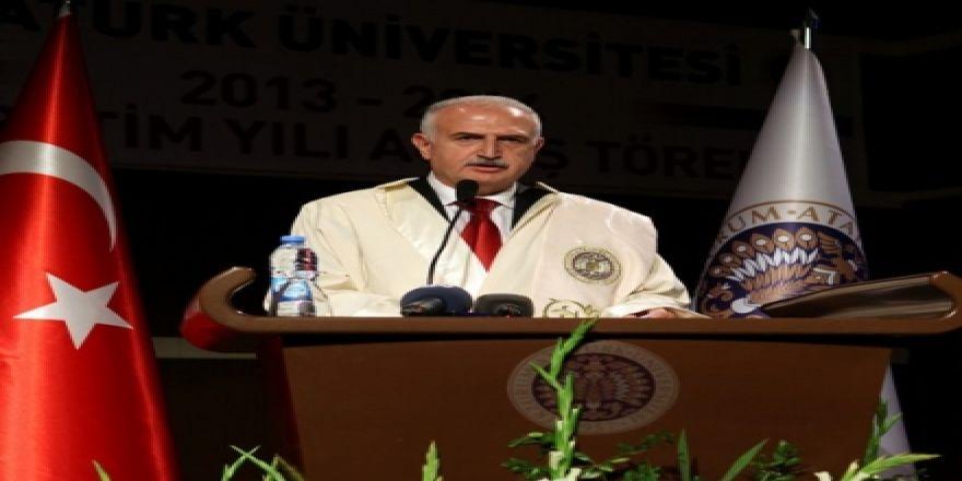 Atatürk Üniversitesi açılış törenini yaptı