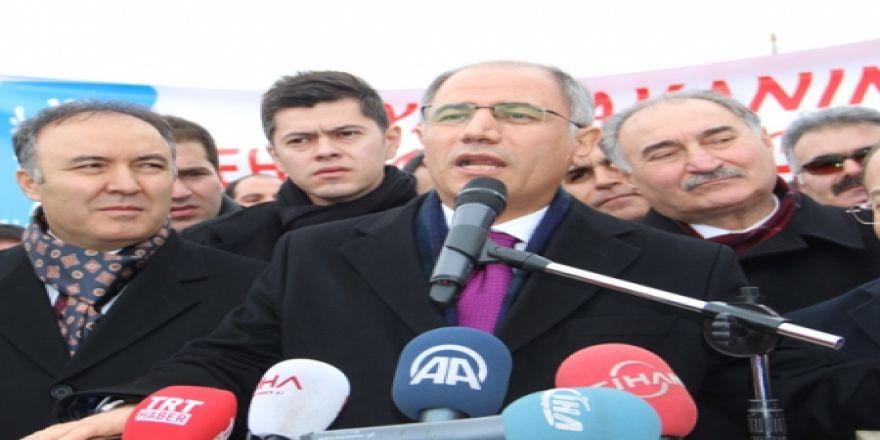 İçişleri Bakanı Ala Erzurum'da
