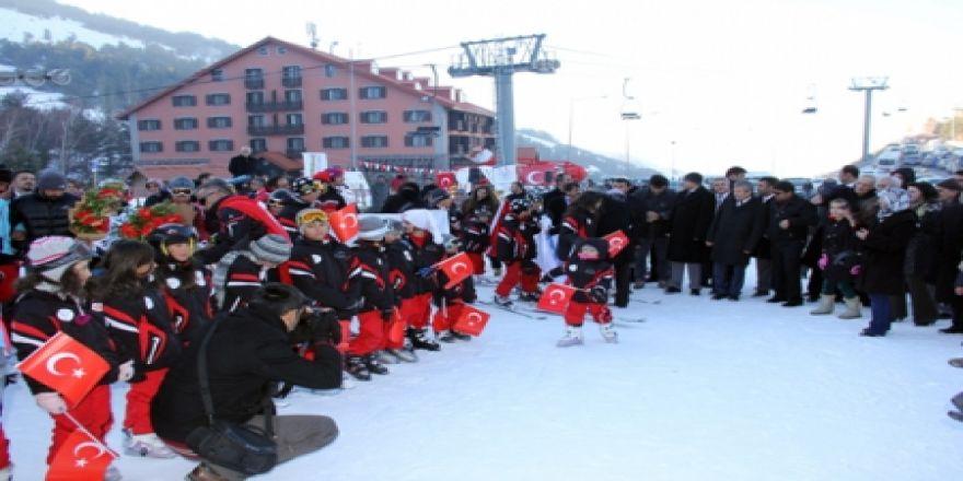 Kayakcı çocuklar sertifikalarını aldı