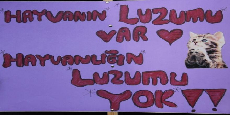 Erzurum'da eylem yaptılar!