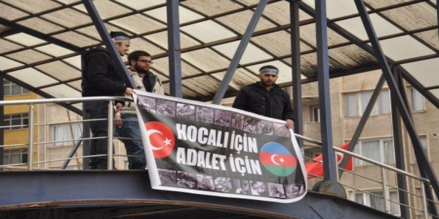 Erzurum Hocalı Katliamı'nı unutmadı