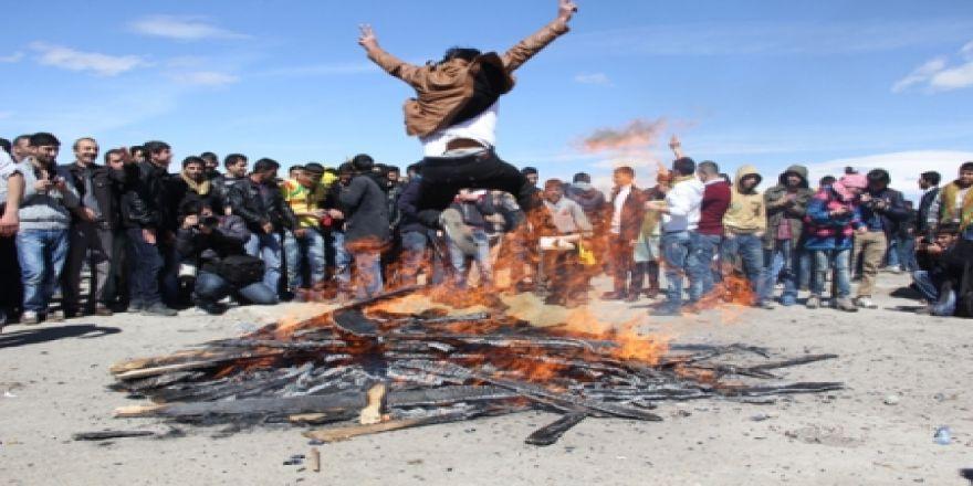 Erzurum'da olaylı nevruz