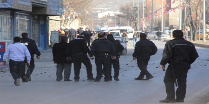 Erzurum'da kavga