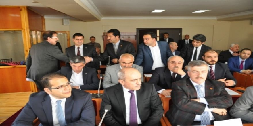Palandöken meclisi toplandı