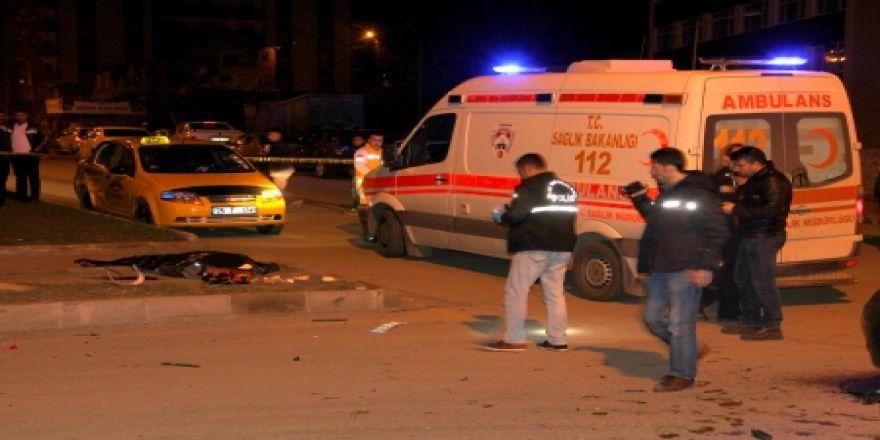 Erzurum'da acı gece: 1 ölü