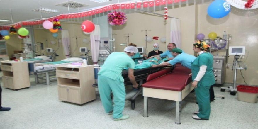 Bölge Hastanesi'nde 23 Nisan neşesi