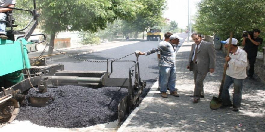 Palandöken asfalta doyacak