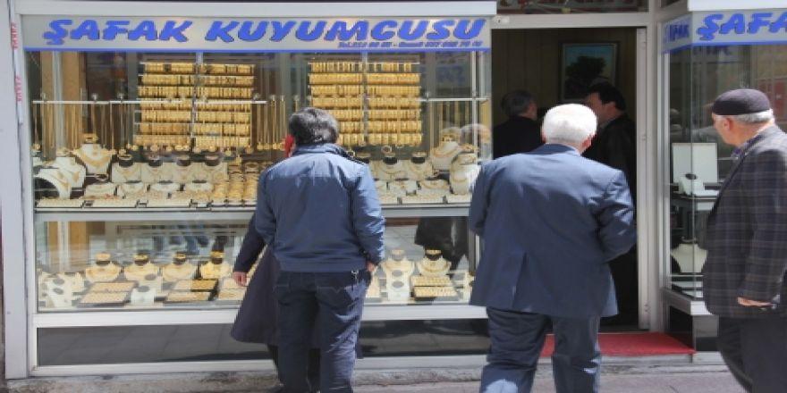Erzurum'da biber gazlı kuyumcu soygunu