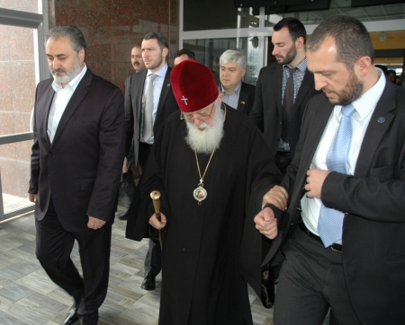 Ortodoks Kilisesi Patriği 2. İlia Erzurum'da 1