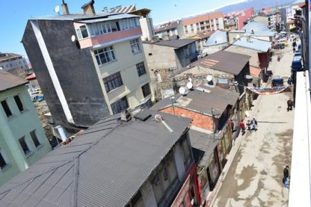 Erzurum'da büyük yıkım başlıyor 1