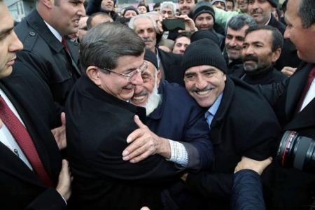 Başbakan Davutoğlu Erzurum'da 1