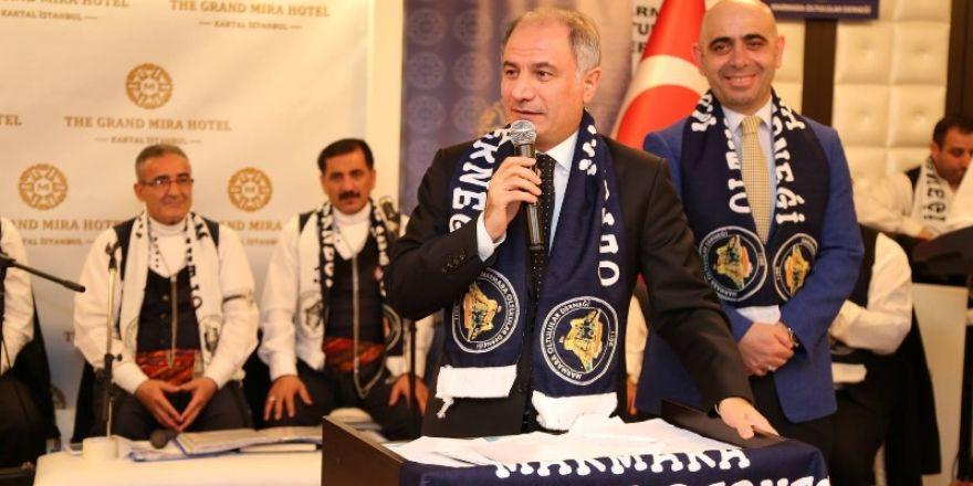 Oltulular İstanbul'da Hasbihal ettiler