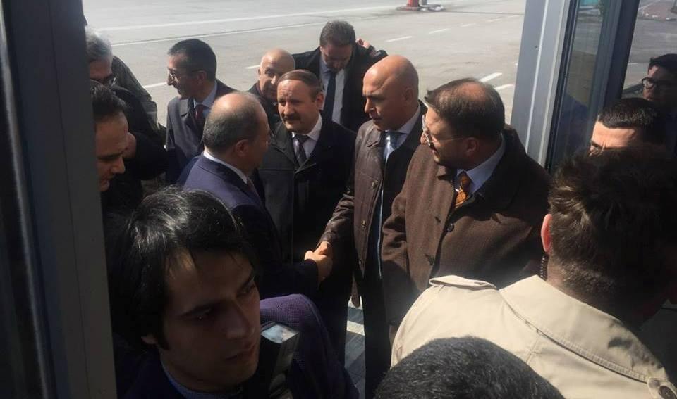 Bakan Akdağ Erzurum'da 1