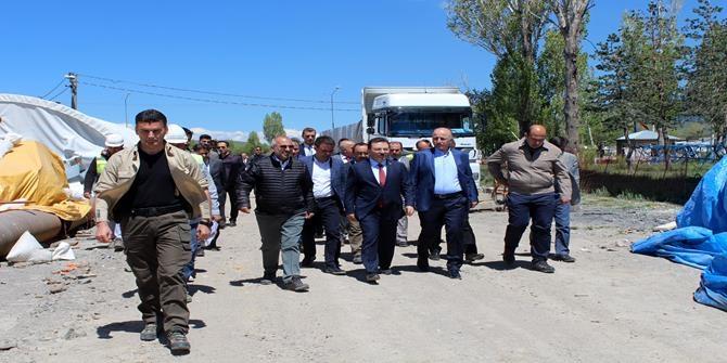 Emniyet Genel Müdürü Selami Altınok Erzurum'da 1
