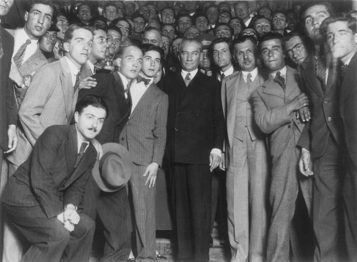 Mustafa Kemal Atatürk'ün az görülmüş fotoğraflarına bakın 1