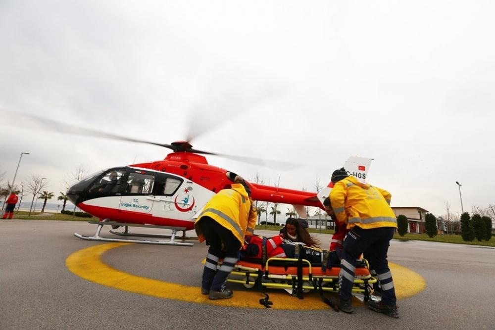 Erzurum İl Sağlık Müdürlüğü ekipleri şifa dağıtıyor 1