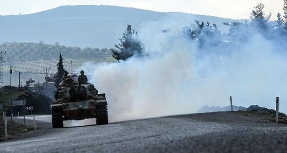 Türk tankları ilerlemeye devam ediyor 1