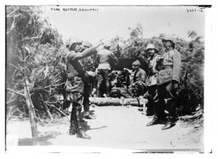 Çanakkale Savaşı'ndan daha önce hiç görmediğiniz kareler 1