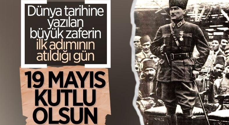 Bağımsızlığın ilk adımı: 19 Mayıs Atatürk'ü Anma, Gençlik ve Spor B 1