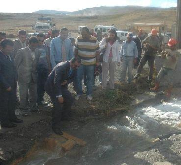 Erzurum'da termal sevinci! 2