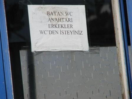 Erzurum'da tuvalet ayıbı!.. 2