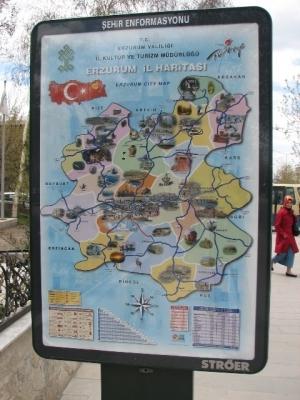 Erzurum'da tartışılan harita!.. 1