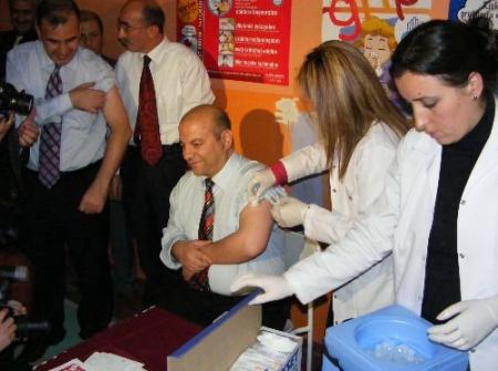 İlk aşı Müdür ve Başhekimlere! 3