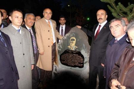 Erzurum'da yazıcıoğlu parkı 1