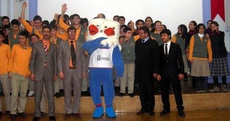 Erzurum'un mutant maskotu!.. 2