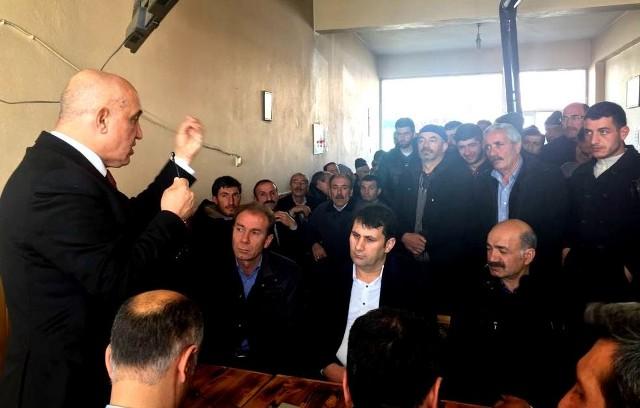 Ilıcalı, Referandum startını Çat'ta verdi