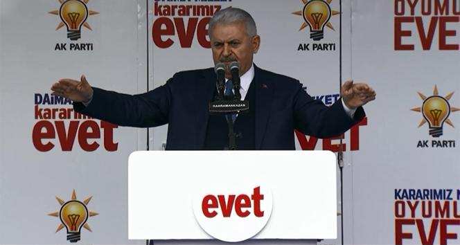 Başbakan Binali Yıldırım'dan Kılıçdaroğlu'na eleştiri