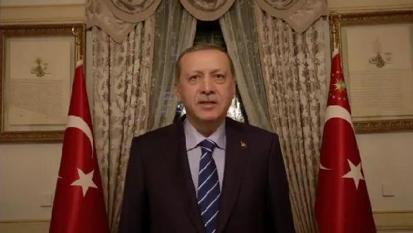 Erdoğan'dan videolu teşekkür
