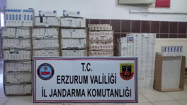 Erzurum'da yakalandılar!