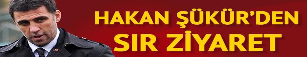 Hakan Şükür'den sır ziyaret!