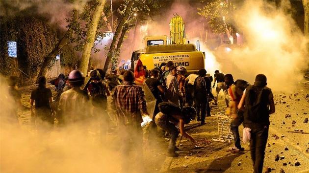 Gezi'nin arkasında bizimkiler vardı