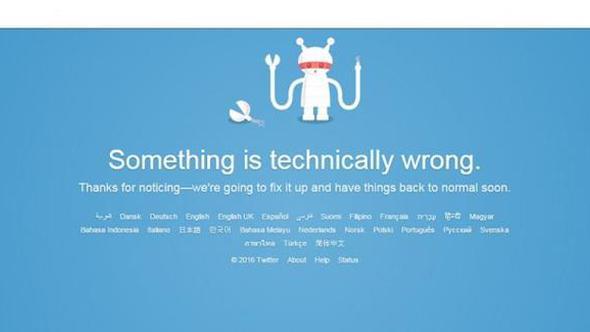 Twitter bir gidiyor bir geliyor