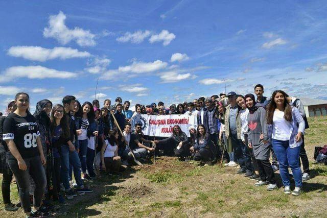 ÇEKO öğrenci kulübü 15 Temmuz şehitlerini unutmadı