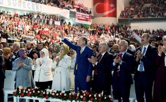 Erdoğan : Bundan Sonraki Hedef Yüzde 50+ 1'dir