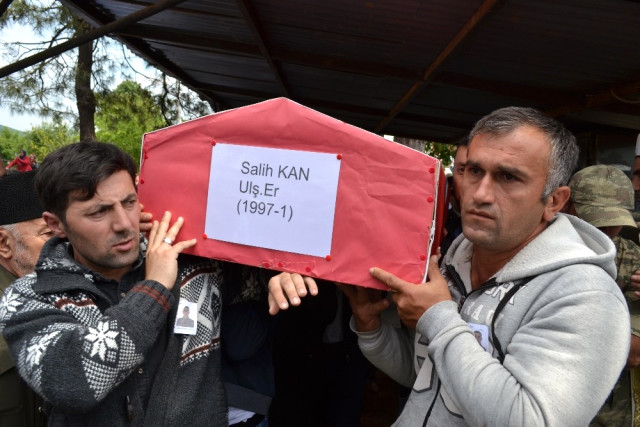 Trafik Kazasında Ölen Asker Son Yolculuğuna Uğurlandı