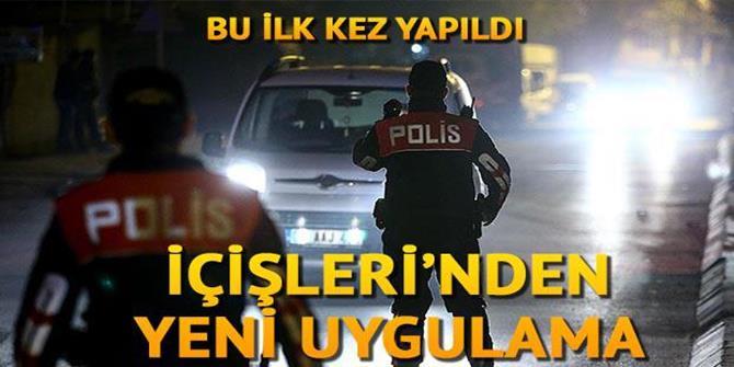 Ülke genelinde 'Türkiye Trafik Güvenliği Uygulaması'