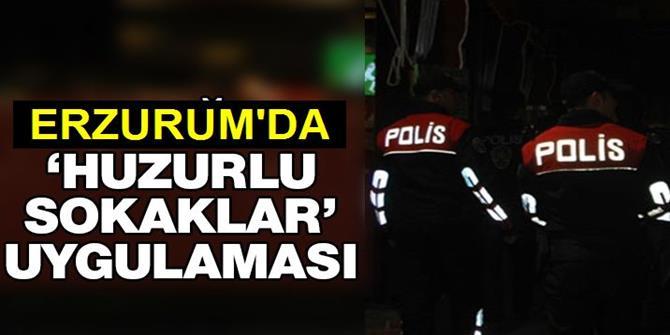 400 Polisle 'Huzurlu Sokaklar' Uygulaması