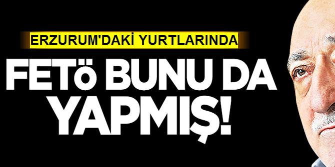 Erzurum'da Fetö Yurtlarında PKK Propagandası