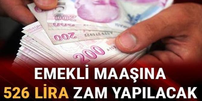 Emekli maaşında tavan 1404 lira olacak